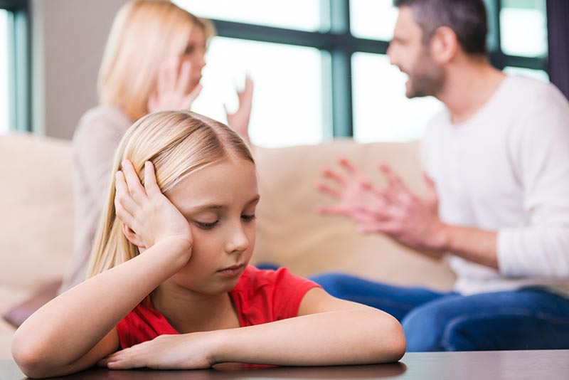 Telling your child about getting a divorce