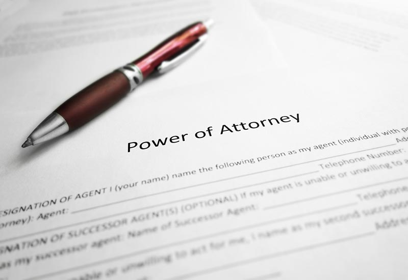 Things to consider when preparing a Power of Attorney