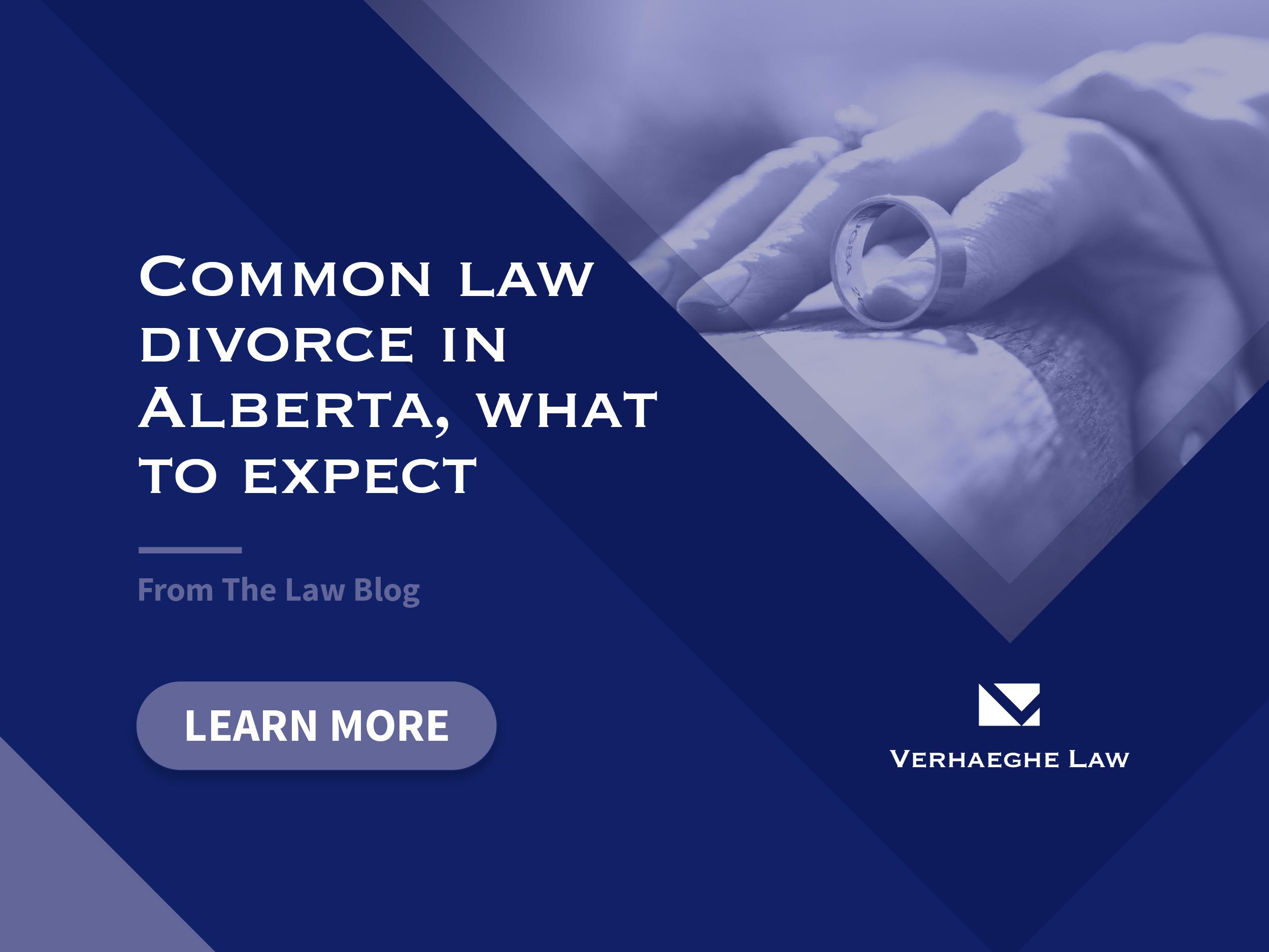 Common Law Divorce In Alberta