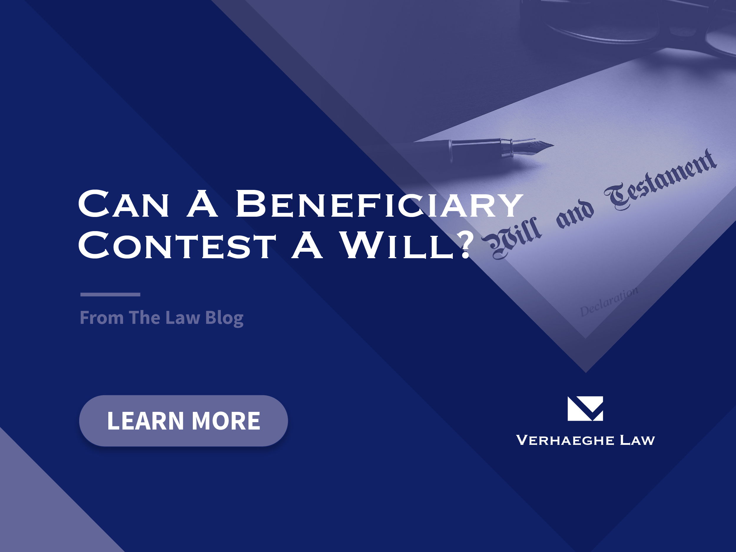 Can a Beneficiary Contest a Will