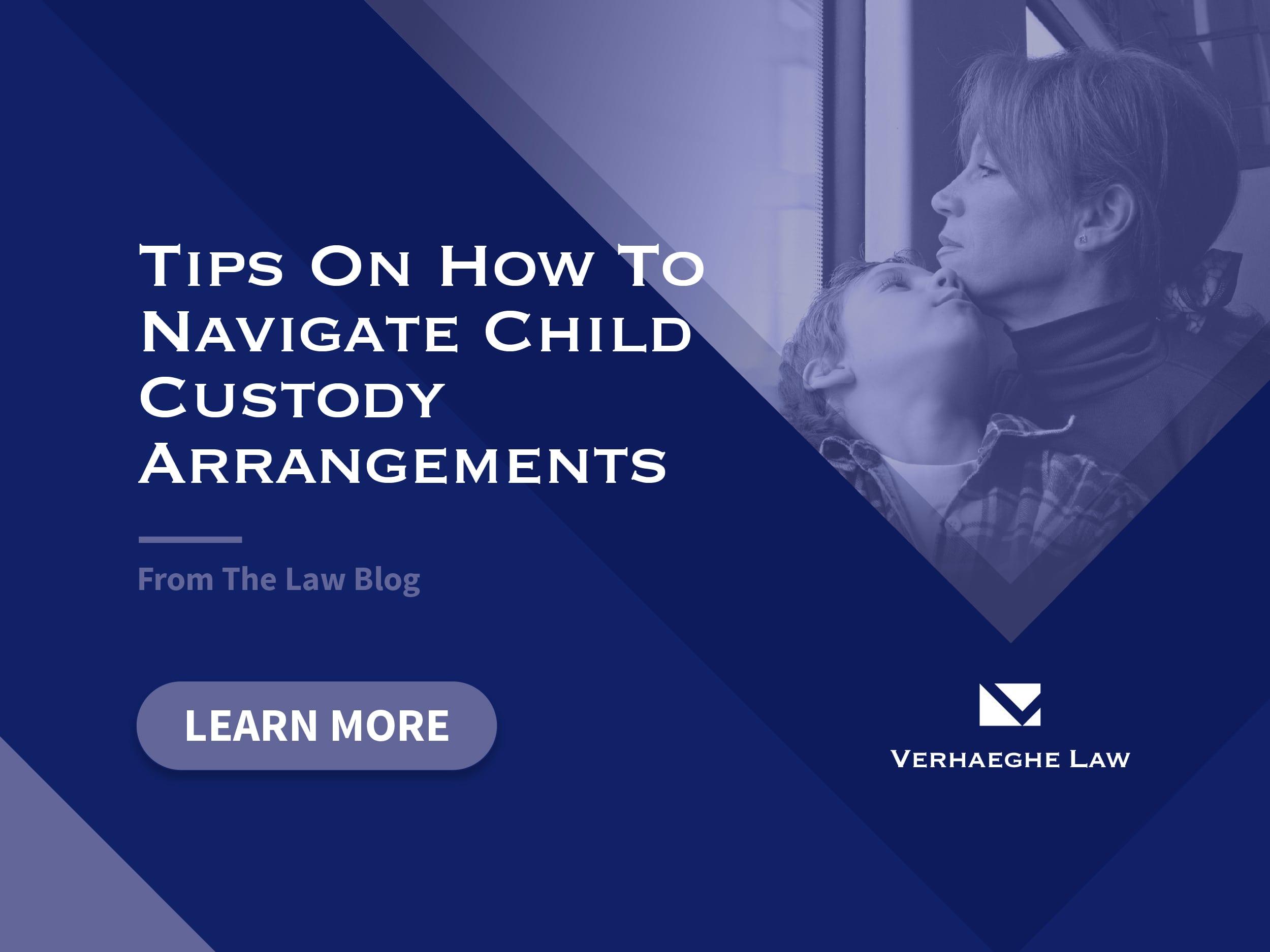 Tips on how to navigate child custody arrangements