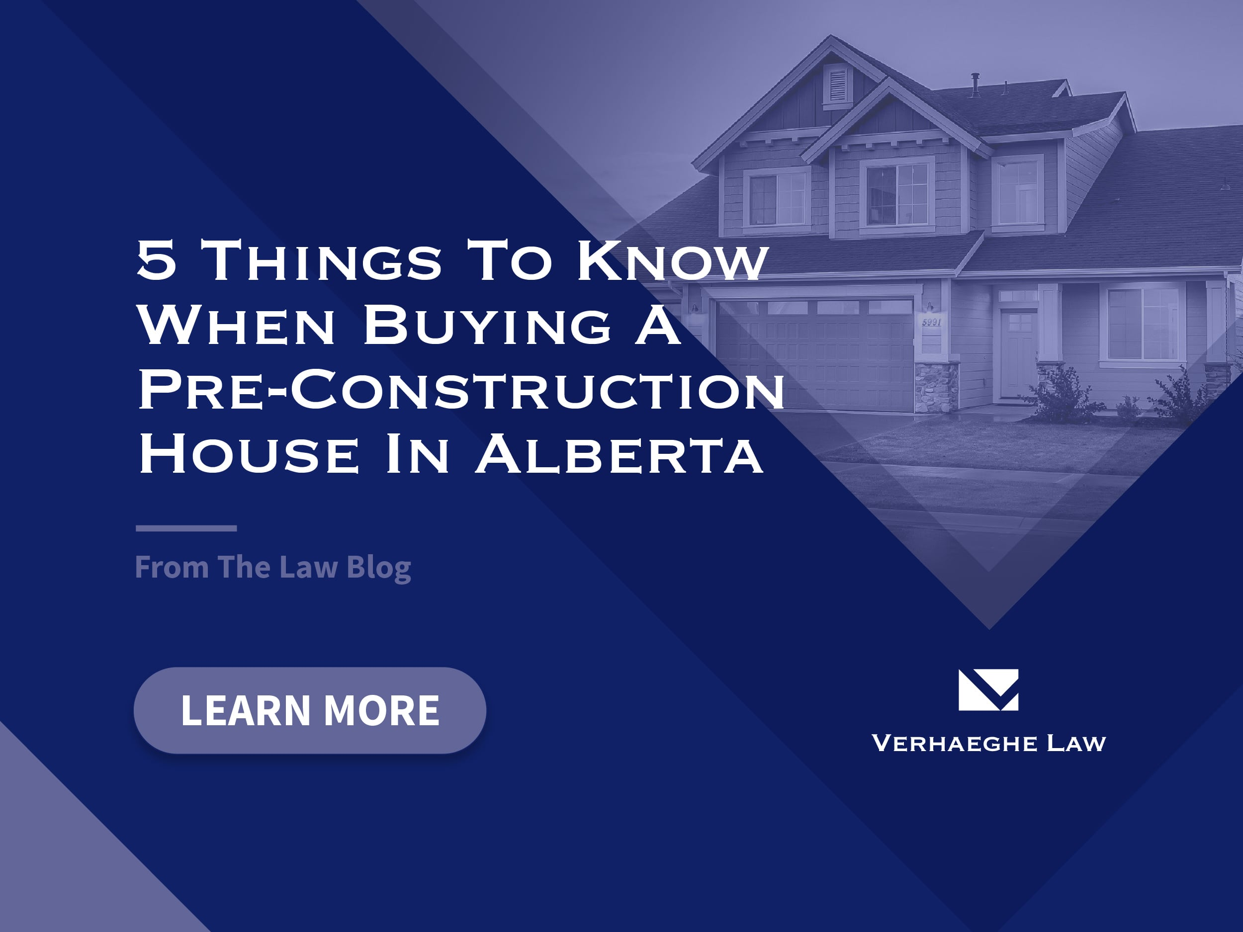 55 things to know when buying a pre-construction house in Alberta